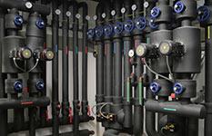 Camera termografica per controllare l'isolamento dei tubi
