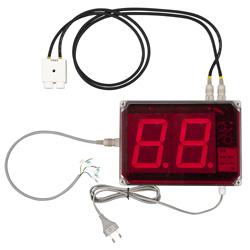 Display del termoigrometro PCE-G1A
