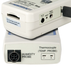 Connessione dell'igrometro PCE-313A