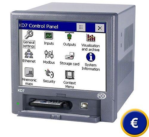 Registratore digitale PCE-KD7