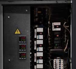 Il regolatore di processi incorporato in un quadro elettrico
