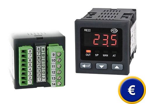 Regolatore di temperatura su 2 punti PCE-RE22 sullo shop online