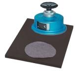 Bilancia: strumento per tagliare campione rotondi con precisione