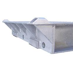 Aumento dimensioni della piattaforma pesa assi PCE-DPW 1 fino a 3400 mm