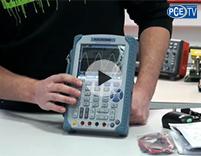 Video degli strumenti di misura: Uso dell'oscilloscopio