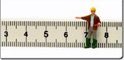 Qui trover� strumenti di misura per la distanza.