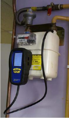 Esempio d'uso dei misuratori di combustione