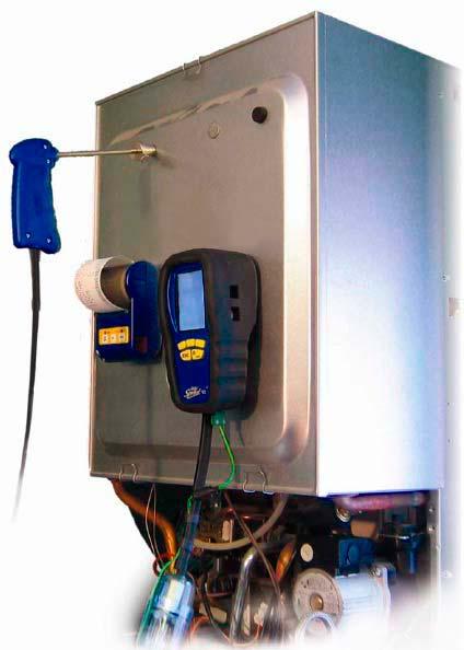 Utilizzo dei misuratori di combustione