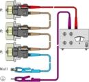 Principio dei misuratori di isolamento di PCE Instruments.