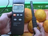 Misura dell'umidita per merci trasportate