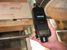 Utilizzo a contatto del tachimetro PCE-T259