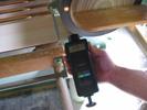 Utilizzo senza contatto del tachimetro PCE-T236