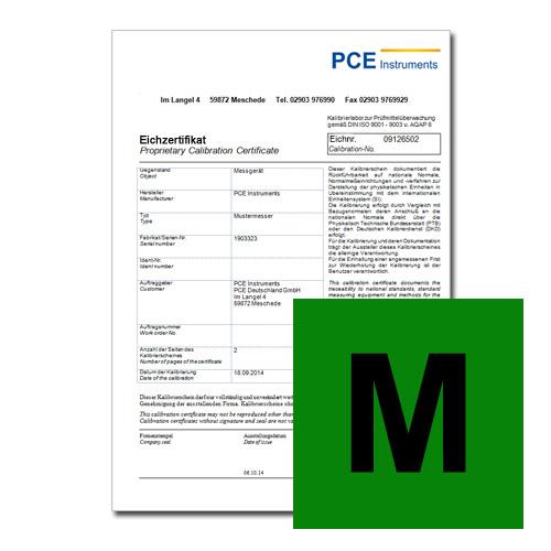 Verifica per i misuratori per il controllo dell'igiene e degli alimenti