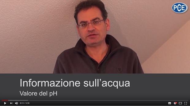 Video sul misuratore di pH